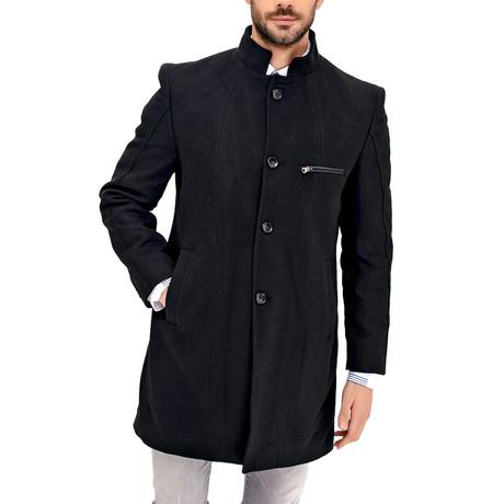Chicago Overcoat // Black (Medium)