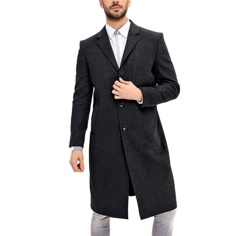 Krakow Overcoat // Anthracite (Small)
