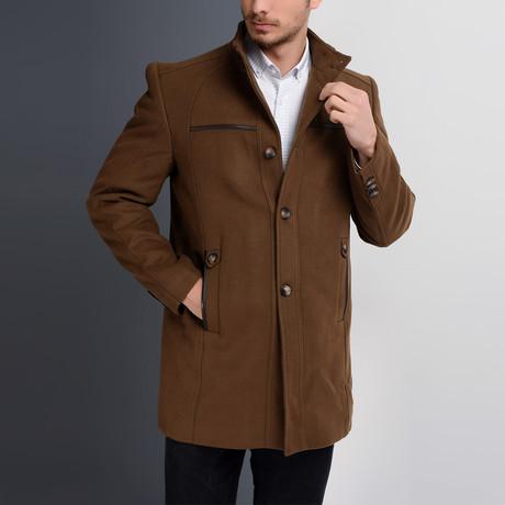 PLT8377 Overcoat // Camel (S)