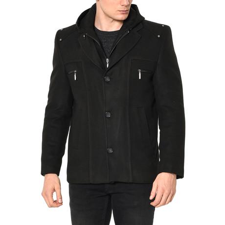 K7532 Coat // Black (S)