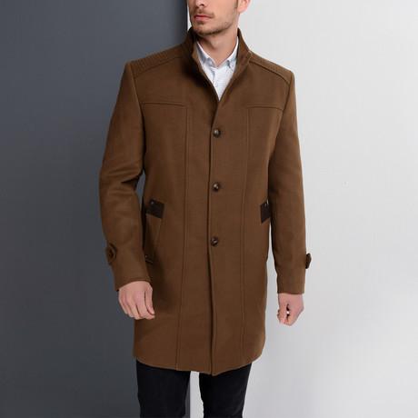 PLT8380 Overcoat // Camel (S)