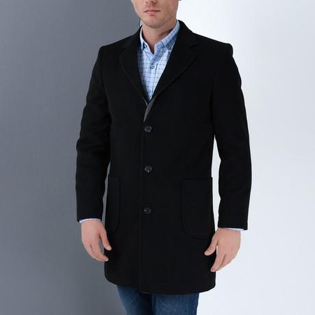 PLT8384 Overcoat // Black (S)