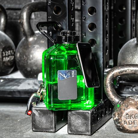 Hydration Junkie // Envy Green