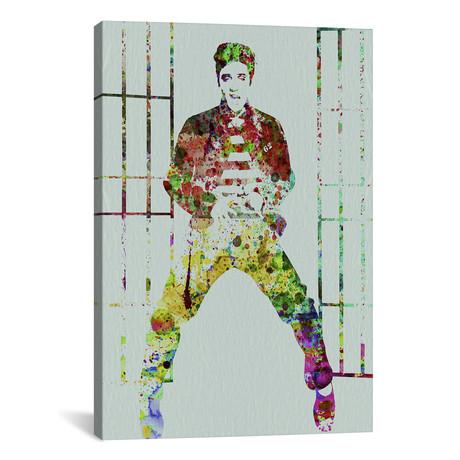 """Elvis // Naxart (18""""W x 26""""H x 0.75""""D)"""