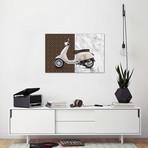 """Vespa Louis Vuitton // Alexandre Venancio (18""""W x 12""""H x 0.75""""D)"""
