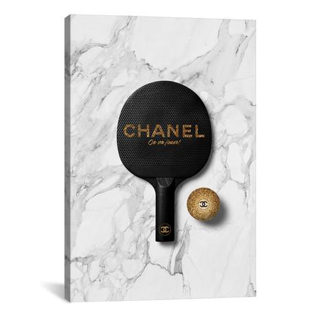 "Chanel Ping Pong II // Alexandre Venancio (12""W x 18""H x 0.75""D)"