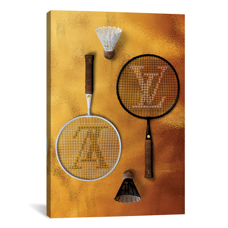 """LV Racquete // Alexandre Venancio (12""""W x 18""""H x 0.75""""D)"""