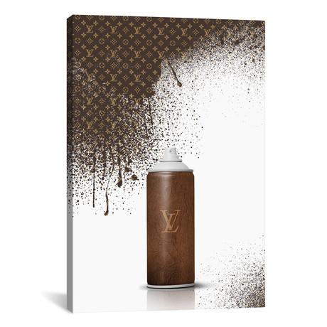 """Spray LV // Alexandre Venancio (12""""W x 18""""H x 0.75""""D)"""