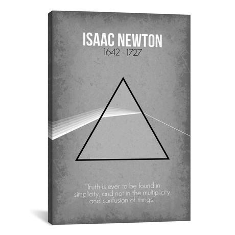 """Isaac Newton (18""""W x 26""""H x 0.75""""D)"""