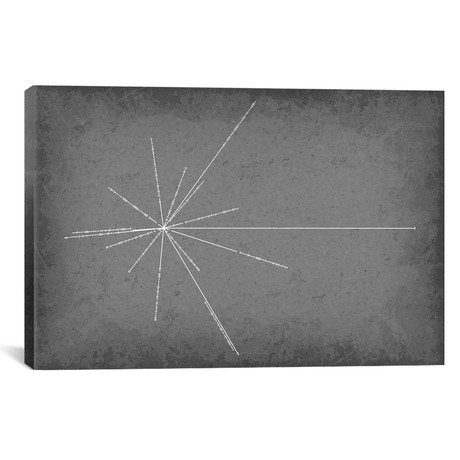 "Pulsar Map (26""W x 18""H x 0.75""D)"