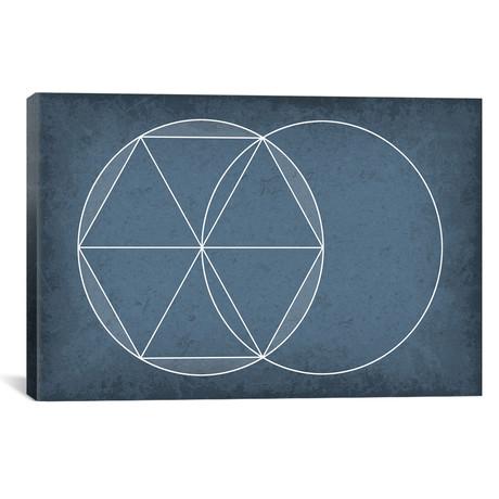 "Euclidean Geometry (26""W x 18""H x 0.75""D)"