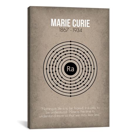 """Marie Curie (18""""W x 26""""H x 0.75""""D)"""