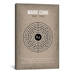 "Marie Curie // GetYourNerdOn (26""W x 40""H x 1.5""D)"