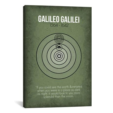 "Galileo Galilei (18""W x 26""H x 0.75""D)"
