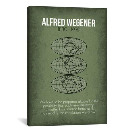 """Alfred Wegener (18""""W x 26""""H x 0.75""""D)"""