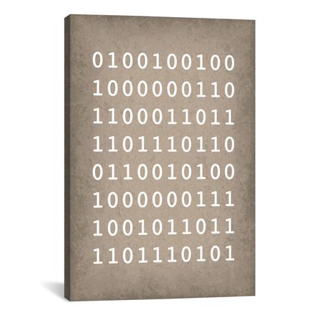 "Binary Code ""I love you"" (18""W x 26""H x 0.75""D)"