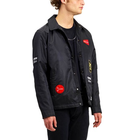 Patched Coach // Black (XS)