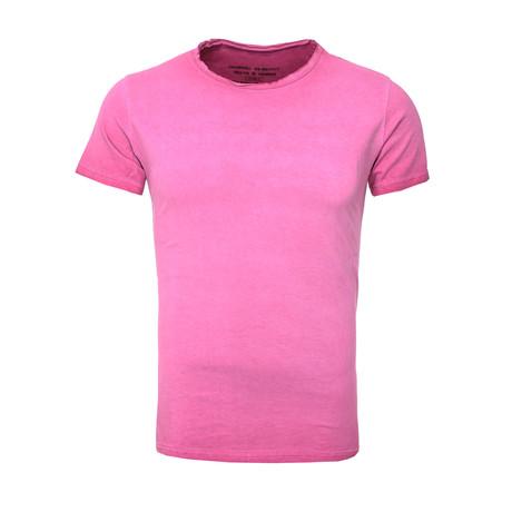 Oil Wash T-Shirt // Fuchsia (S)