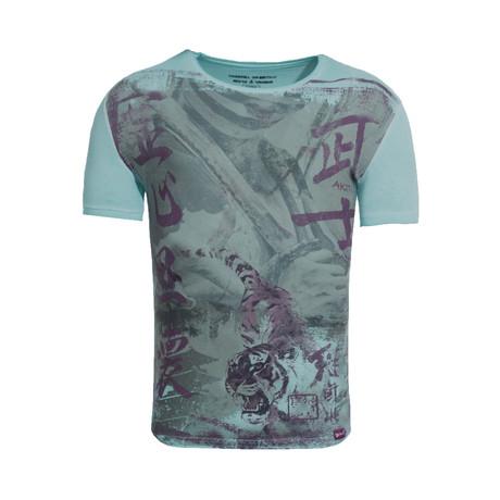 Samurai Fighter T-Shirt // Green (S)