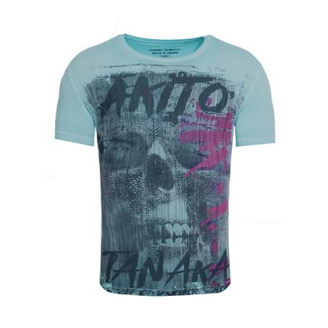 Fight For Skull T-Shirt // Green (S)