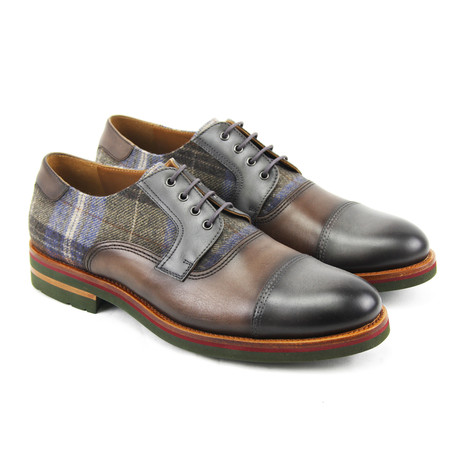 Sergio Derby // Gray + Brown (Euro: 40)