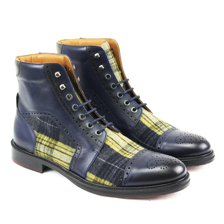 Santiago Military Boot // Navy (Euro: 40)
