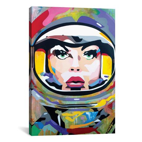 "Space Girl // DAAS (18""W x 26""H x 0.75""D)"