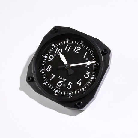 "6"" Cockpit Style Instrument Style Clock"