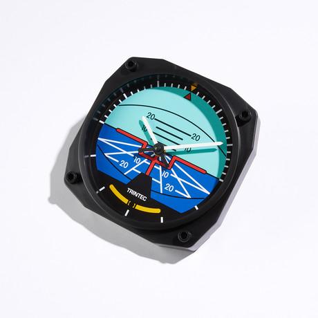 "6"" Horizon Instrument Style Clock"
