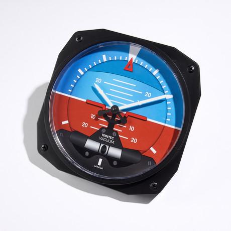 "10"" Horizon Instrument Style Clock"
