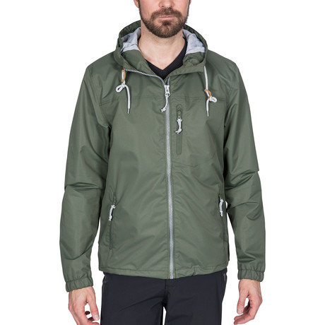 Anchorage Jacket // Basil (XXS)