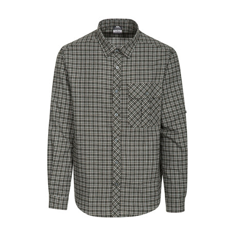 Snyper Shirt // Green Check (XXS)