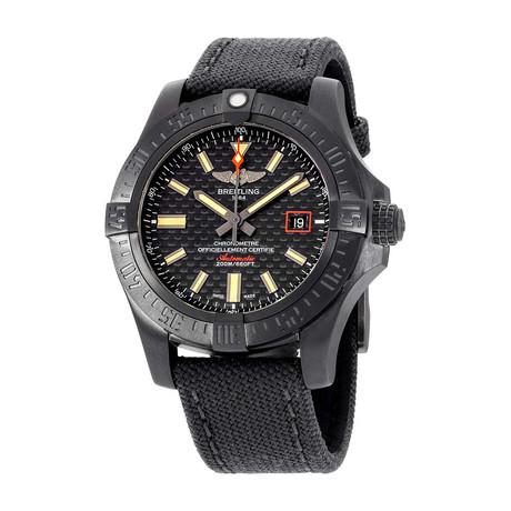 Breitling Avenger Blackbird Automatic // V173111A/BF91 // New