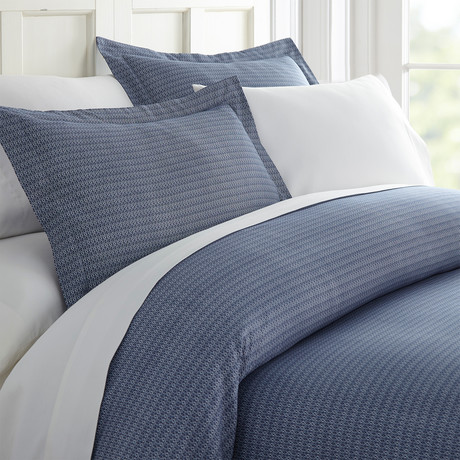 Superior Softness Patterned Duvet Set // 3 Piece // Diamond Pattern (Queen)