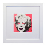 "Andy Warhol // Marilyn (Announcement) // 1981 (7""L x 7""H)"