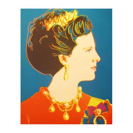 Andy Warhol // Reigning Queens: Queen Margrethe II of Denmark II.343 // 1985