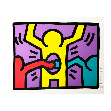Keith Haring // Pop Shop I (C) // 1987