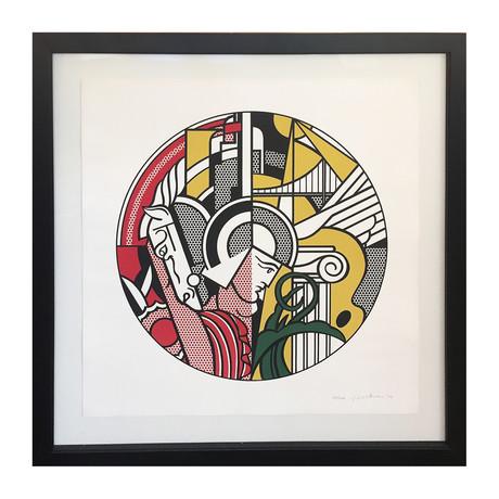 Roy Lichtenstein // The Solomon R. Guggenheim Museum Print // 1969