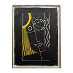 Roy Lichtenstein // Modern Head #2 from Modern Head Series // 1970