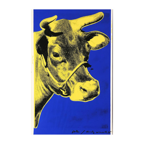 Andy Warhol // Cow II.12 // 1971