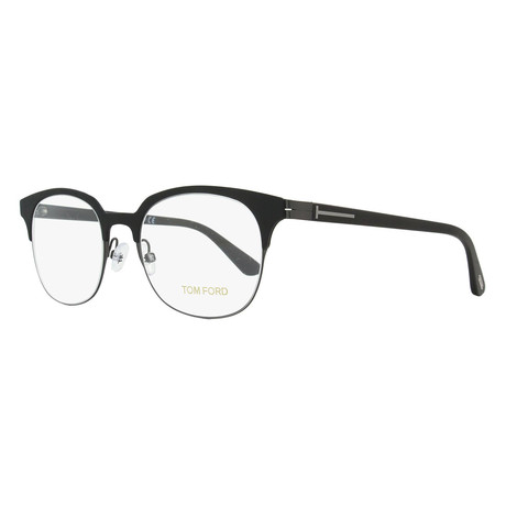 Unisex Rectangular Eyeglasses // Black II