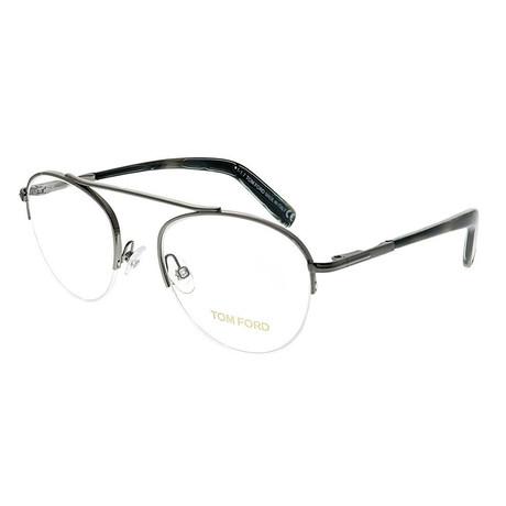 Unisex Aviator Eyeglasses // Silver Gray