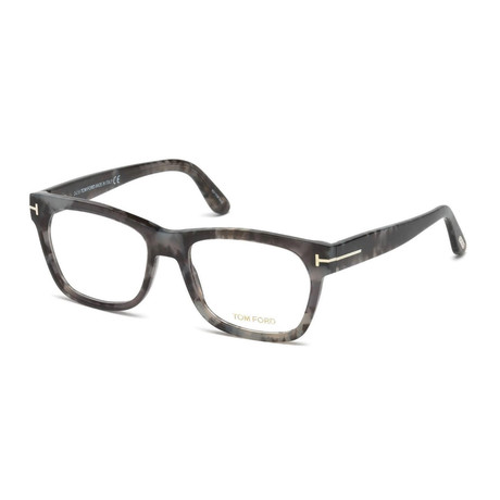 Unisex Aviator Eyeglasses // Gray Charcoal