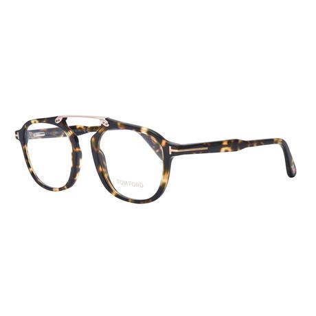 Unisex Aviator Eyeglasses // Tortoise
