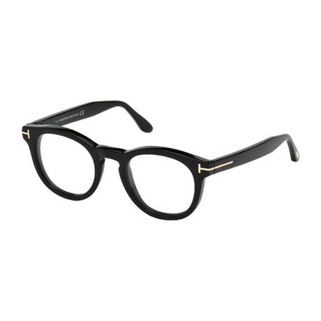 Unisex Round Eyeglasses // Black
