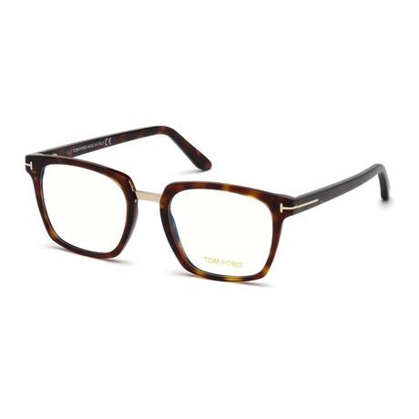 Unisex Rectangular Eyeglasses // Tortoise