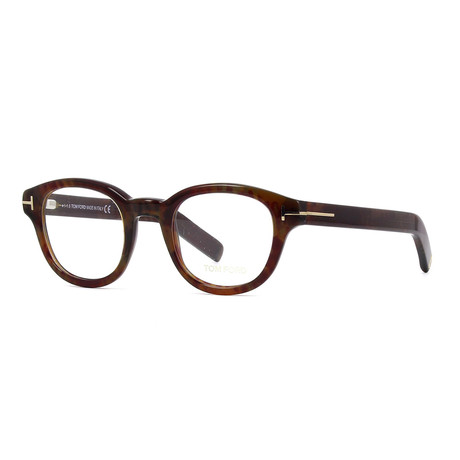 Unisex Round Eyeglasses // Tortoise II