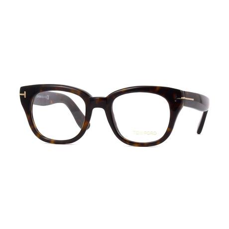 Unisex Square Eyeglasses // Tortoise