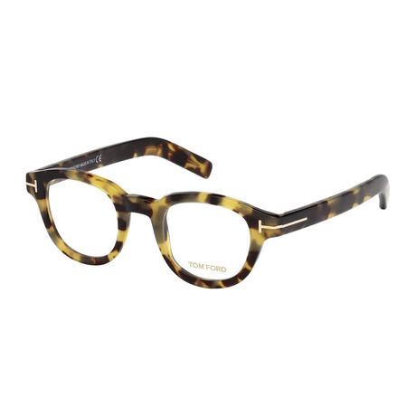 Unisex Round Eyeglasses // Tortoise