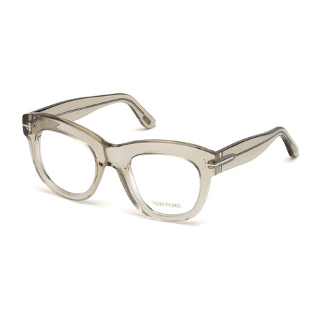 Unisex Square Eyeglasses // Clear